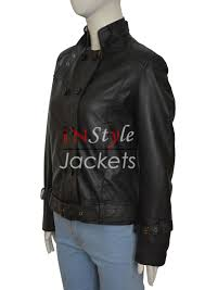 leather jackets captain america the winter soldier black widow jacket
