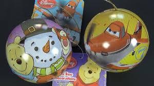 disney planes u0026 winnie the pooh tin christmas tree decoration