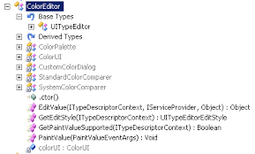 coloreditorex an extension to the coloreditor to support
