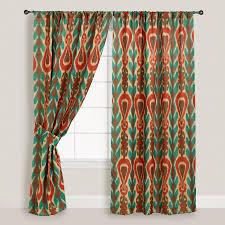 nice looking ikat curtains decor window decorating ikat curtains