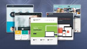 flat website templates easy way of staying trendy