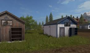 shed style architecture tool shed repaint mod for farming simulator 2017 other