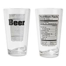 coors light calories pint nutritional facts pint glass
