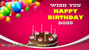 professional happy birthday greeting cards for boss