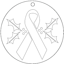 printable ribbon cancer coloring pages breast cancer ribbon coloring page awesome