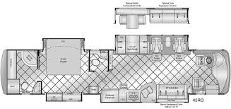 class a rv floor plans damon motor coach motorhome floor plans