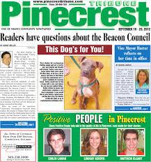 9 10 2012 pinecrest tribune by community newspapers issuu