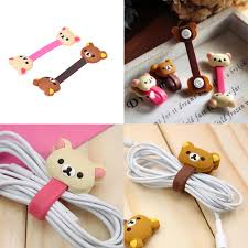 Buy Desk Accessories by Wire Organizer Kawaii Animals Cable Chick Headphone Winder Earbud