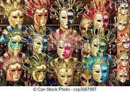 carnival masks for sale italian carnival masks for sale from a vendor s cart in