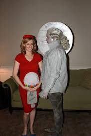 Halloween Costumes Pregnant Couples Coolest Mother Earth Father Pregnant Couple Costume