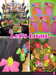 hawaiian party ideas hawaiian tropical luau party top party ideas