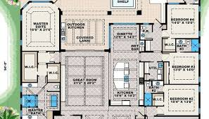 2500 sq ft one level 4 bedroom house plans house plan four luxamcc