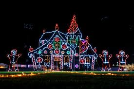 christmas light displays in ohio stupefying christmas light displays in ohio pa nj massachusetts