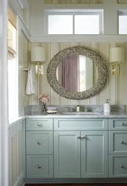Blue Bathroom Vanity Cabinet In Bathroom Beach Design Ideas With Blue Cabinets Gray Cabinets