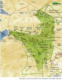 Map Of Tanzania Africa by Namiri Plains Eastern Serengeti Tanzania Best African Safari