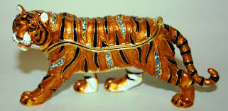 juliana treasured trinkets tiger trinket box tiger trinket box