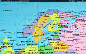 North European Plain Map by Europe U0027s Physical Features Learning Team 3