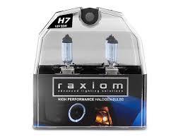 raxiom mustang elite headlight bulbs h7 49155 99 09 w
