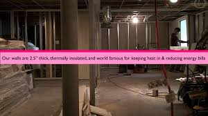 compare drywall to owens corning basement finishing system youtube