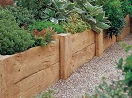 28 wooden flower bed edging 17 fascinating wooden garden