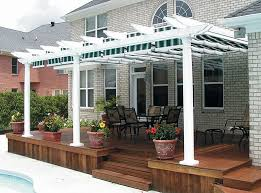 Building Your Own Pergola by Canvas Pergola Shadetree Canvas Pergolas