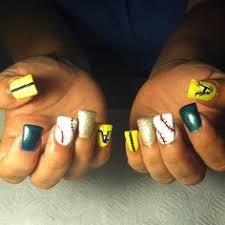 nail art oakland a u0027s via savage devil dolls mc nails
