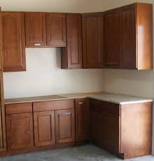 Delighful Light Cherry Kitchen Cabinets Photo Gallery With Dark - Kitchen cabinets photos gallery