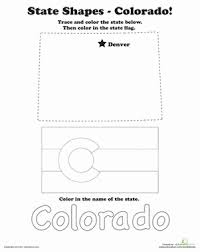 trace and color 50 states worksheets education com