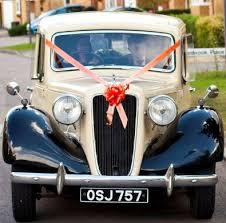 car ribbon personalised wedding car ribbon kit all up