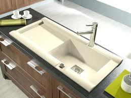 evier cuisine grand bac evier cuisine grand bac emejing evier de cuisine granit blanc images