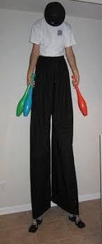 clown stilts for sale stilt for stilt walkers costumes etsy