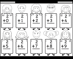 2 addition facts free worksheets for every fact family sweet pea
