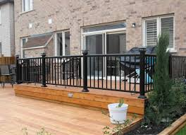 deck railing kits vinyl u2014 railing stairs and kitchen design
