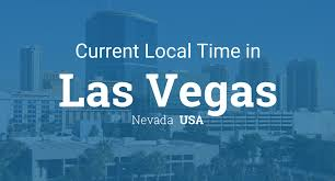 Pacific Time Zone Map Current Local Time In Las Vegas Nevada Usa