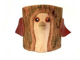 rustic pencil holder bird bark wood pencil cup tree bark pen