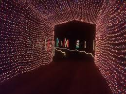 drive by christmas lights candy cane lane christmas light park in louisiana southern living