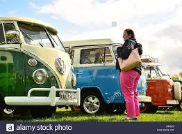 volkswagen 2017 campervan oswestry shropshire england u k easter saturday 15 april 2017