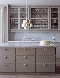 kitchen white cabinets brass vintage latch hardware kitchens with