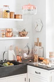 kitchen decor collections tendance déco modern copper en cuisine maisons du monde decor