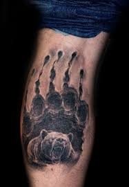 33 bear claw tattoos with varying significance and meanings