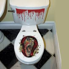 novelty toilet paper holder zombie toilet paper holder decoration