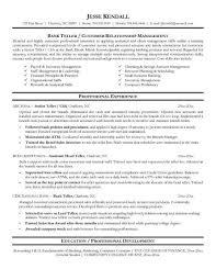 Resume For Teller Resume Skills For Bank Teller 5 Bank Uxhandy Com