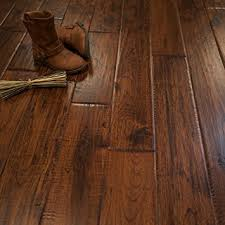 hickory character crest prefinished solid wood flooring 5