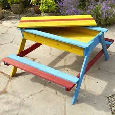 childrens picnic bench ebay