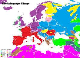 World Language Map by Minority Languages Of Europe U2013 Sb Language Maps