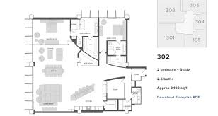 Northpark Residences Floor Plan by San Diego Coastal Houses