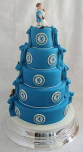 chocolate and chelsea fc wedding cake chelsea fc