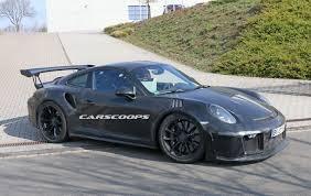 911 Gt3 Msrp 2017 Porsche 911 Gt3 Rs Gets Bigger 4 2l Flat Six May Get A