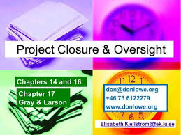 project closure report template ppt project closure report template ppt project management 6e ppt