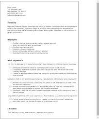 Call Center Customer Service Resume Examples by Cosy Customer Service Supervisor Resume 8 Call Center Supervisor